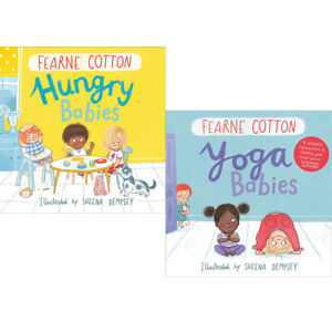 Fearne Cotton Collection 2 Books Set Yoga Babies and Hungry Babies