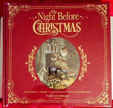"NEW FAO Schwarz ""The Night Before Christmas"" by C C Moore Keepsake Heritage Edit"