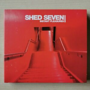 SHED SEVEN Instant Pleasures Limited Edition 22-trk 2-CD digipak VGC
