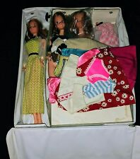 Vintage Barbie Kelly Doll Lot-Quick Curl Kelly With Case