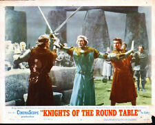 KNIGHTS OF THE ROUND TABLE 11x14 ROBERT TAYLOR/STANLEY BAKER original lobby card