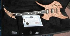 Ed Roman Signed Autographed Quilted Maple Rockingbird Electric Guitar---Nice!