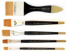 Brushes4Art Classic Watercolour Artists Paint Brush - Various Sizes FLAT Wash