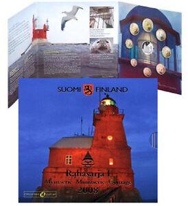 Finland 2008 - Official (BU) Euro Coin Set - Lighthouse
