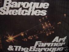 ART FRAMER BAROQUE SKETCHES Rare FACTORY Sealed Jazz LP