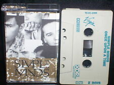 SIMPLE MINDS ONCE UPON A TIME - RARE CASSETTE NM