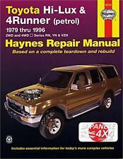TOYOTA HI-LUX & 4 RUNNER **NEW HAYNES MANUAL** 1979-1996 2WD & 4WD PETROL MODELS