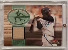 2002 Fleer Tradition Lumber Company Game Used Bat - Cliff Floyd