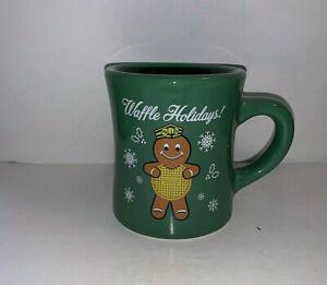 Waffle House Waffle Holidays 2016 Limited Edition Green Coffee Mug