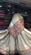 Indian heavy wedding/party wear saree with blouse
