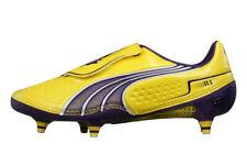 Puma V1.11 SG Mens Football Boots / Cleats - Yellow