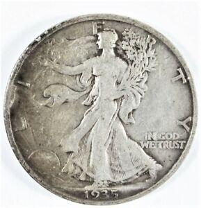 1935 Walking Liberty Silver Half Dollar Philadelphia Mint Nice