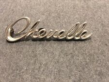 Chevy Chevelle script emblem classic badge metal ornament OEM