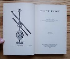 The Telescope, Bell 1922, 1st Edition, scientific optical equipment manual