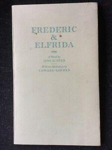 Frederic & Elfrida Jane Austen Novel illustration Edward Bawden 1987 limited ed
