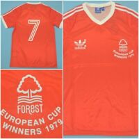 Nottingham Forest 1979 European Cup Winners Home Shirt Vintage Retro Jersey