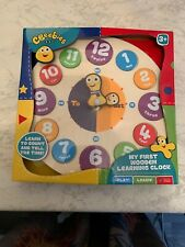 CBeebies My First Wooden Learning Clock