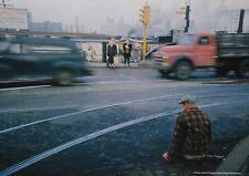 Werner Bischof Photo Print 30x21cm Legless Man on Street Corner Chicago USA 1953