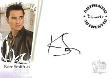 Charmed Destiny Auto Autograph Card A7 Kerr Smith as Kyle from Inkworks
