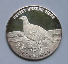 Silver Medal, Rettet unsere Tiere / Save our animals, Rebhuhn - Grey partridge