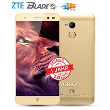 Neu Ohne Simlock Versiegelt ZTE Blade V7 Lite Gold Dual SIM 4G LTE Android Handy