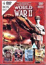WORLD WAR II 4 DVD BOX SET (SEALED) XMAS? -PRE TO WAR, AMERICA, PACIFIC , JAPAN