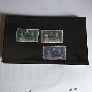 GEORGE VI 1937 CORONATION  GIBRALTER   UN MOUNTED MINT