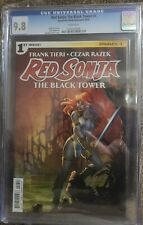 RED SONJA THE BLACK TOWER #1 DYNAMITE Amanda Conner cover 1ST PRINT CGC 9.8