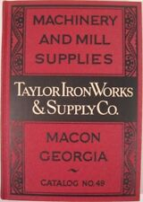 Taylor Iron Works, Supply Co / MACHINERY AND MILL SUPPLIES Catalog No 49 1948