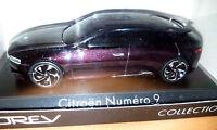 Citroen Numero 9 Concept Car 2012 Amaranto Metallizato 1:43 - Norev - Nuova