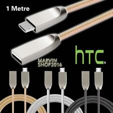 For HTC Desire 626 626G 626s Braided Micro USB Charging Data Sync Charger Cable
