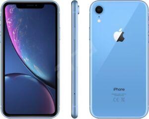 New Apple iPhone XR 256GB Blue Factory Unlocked Worldwide Shipping