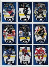 1998/99 Upper Deck Choice Hockey Starquest Blue complete set 1-30