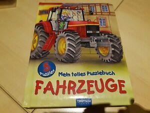 Mein tolles Puzzlebuch Fahrzeuge 5 Puzzle Trötsch Verlag