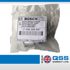 Genuine Bosch Rotak on/off switch F016103607