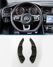 Pinalloy Schwarz Metall Schaltwippen Schaltpaddel Shifter VW Golf MK7 Scirocco
