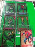 1994 Marvel 5 Amazing Spiderman Suspended Animation AND GOLDEN WEB INSERTS