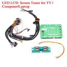 16 in 1 LCD LED Panel Tester Tool Kit For TV Laptop Computer LVDS Screen Repair