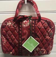 Vera Bradley Retired Rare Mesa Red Purse Cosmetic Bag Case
