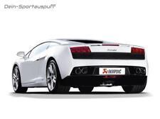 Akrapovic Titan Sportauspuff Lamborghini Gallardo LP 560-4 je 2x aus Carbon