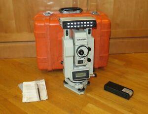 Sokkia Leitz Sokkisha SET10 Electronic Total Station & Case
