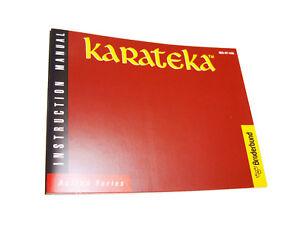 Karateka Nintendo NES Famicom English Instruction Manual Booklet Broderbund