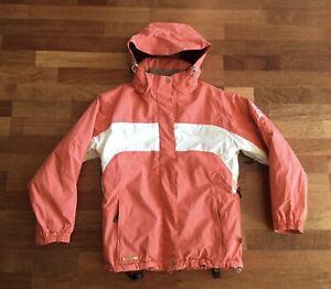 O'Neill Ski Snowboard Jacket Coat Girls Large Coral Orange