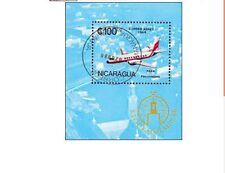 BLK00323 Nicaragua plane block
