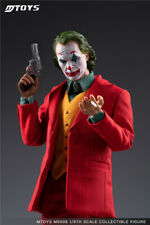 MTOYS 1/6 MS008 Joker Joaquin Phoenix Male Action Figure Makeup Head Version