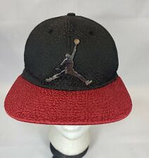 Jordan Jumpman Adjustable Hat Youth Black Red