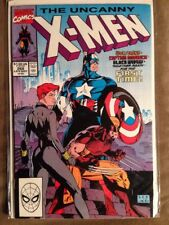 Iconic Cover - UNCANNY X-MEN #268- Marvel Jim Lee-Wolverine-Black Widow NM