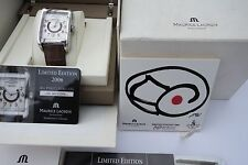 MAURICE LACROIX PONTOS RECTANCULAIRE DAY DATE LIMITED EDITION 2006 FULL SET