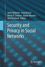 Security and Privacy in Social Networks (2012, Hardcover)
