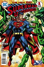 SUPERMAN UNCHAINED #1 75TH ANNIVERSARY VARIANT BRONZE AGE DC COMICS